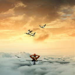 clouds sky heaven edited surreal surrealism