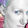 #gdphotostrips,#mycreation,#blueeyes,#selfie,#colorsplash