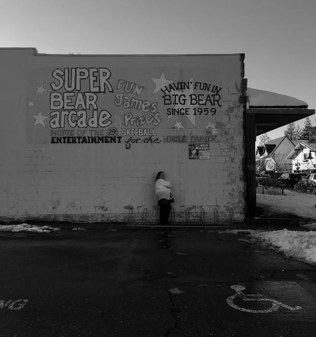 #FreeToEdit #streetphotography #bigbear #bigbearlake #snow #photography #architecture