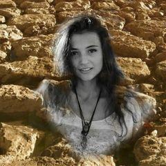 freetoedit rocks woman