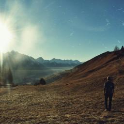 travel mountains engain freetoedit