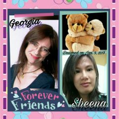 bestfriends collage happinness colorful
