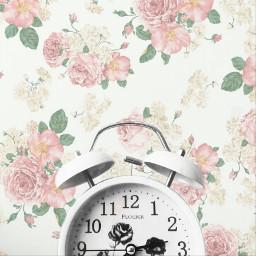 freetoedit floralpattern timeremix
