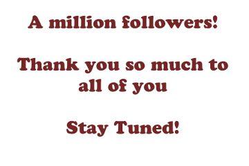 million followers thanks ilovepicsart