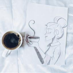 mypic myart coffeelovers myday mylife freetoedit