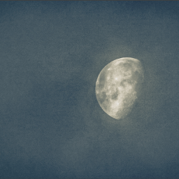 moon skies waninggibbous tennessee astrophotography