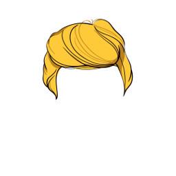 freetoedit hair trump sticker
