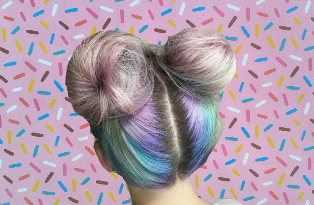 #FreeToEdit  #remixed #popart  #sprinkles #hair