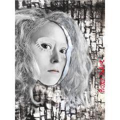 interesting art blackandwhite collage artisticselfie