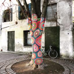 freetoedit urbanknitting graffitiknitting treviso trevisocity