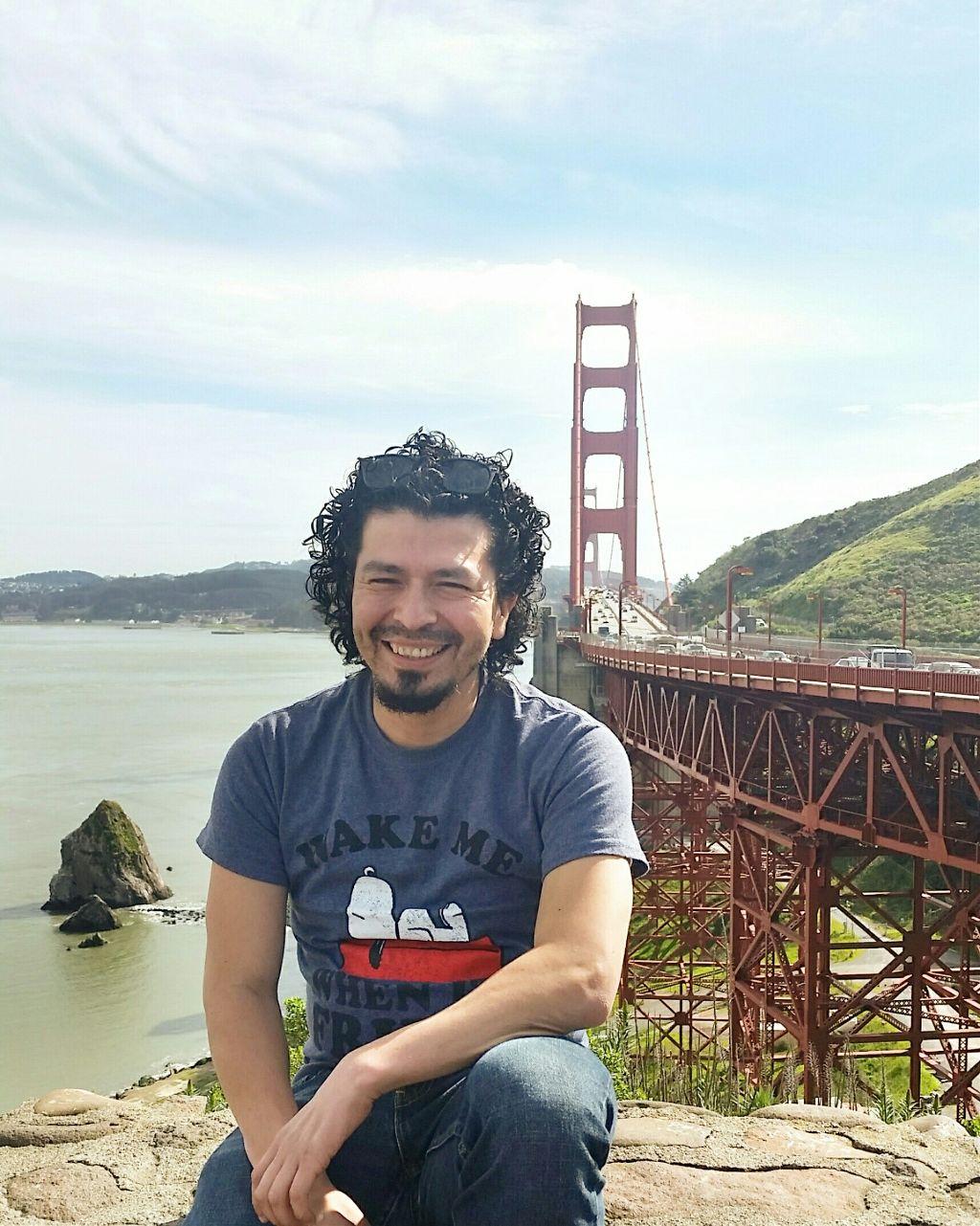 San Francisco. #FreeToEdit #bridge #goldengatebridge #latino #selfie #interesting #photography #singlelife