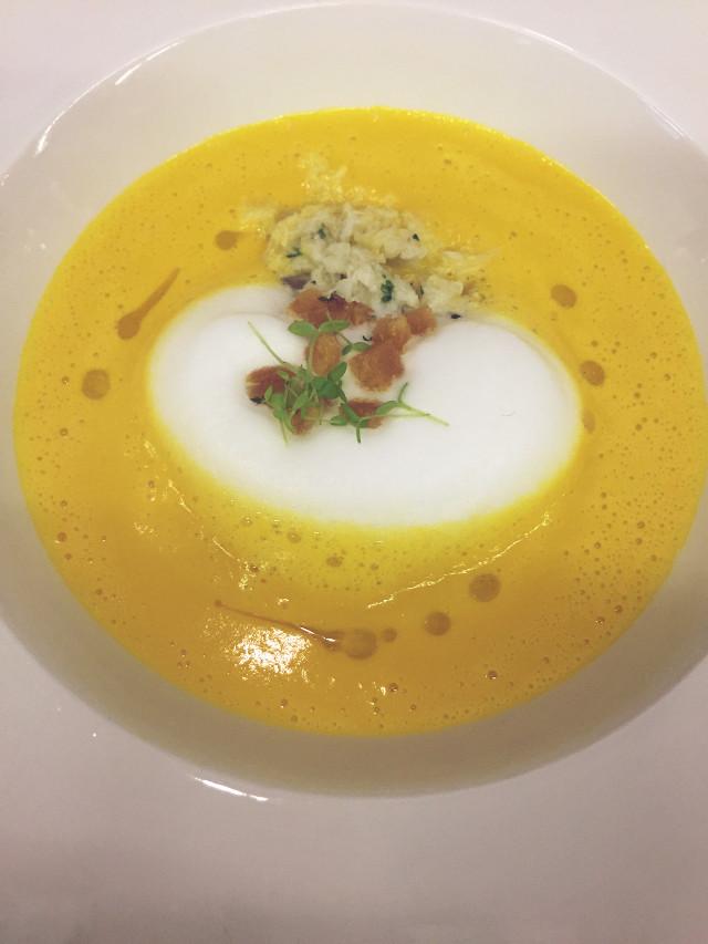 #Celeriac & #Carrot #soup #crabmeat #ChefNung #Chef