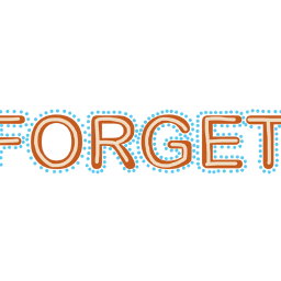 FreeToEdit ftestickers quotesandsayings quotes forget