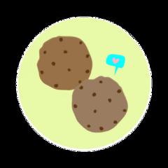 ftestickers cookies cookie food yum