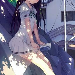 аниме арт мило тян anime