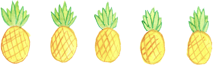 pineapple art interesting freetoedit