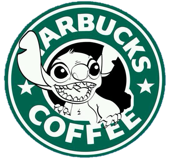 stitch starbucks png cute logo tumblr...