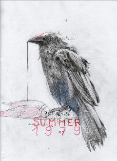 drawing sketch sketchbook raven