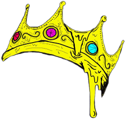 crown queen king freetoedit