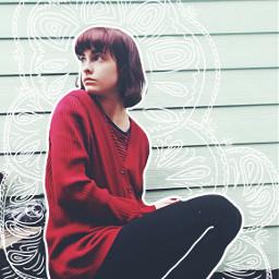 freetoedit remixed zentagleart girl myedit