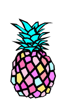 freetoedit pineapple