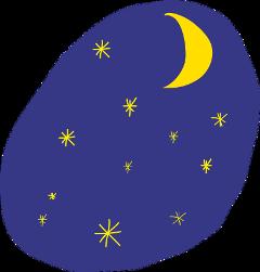 ftestickers moon freetoedit