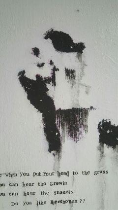 art painting blackandwhite